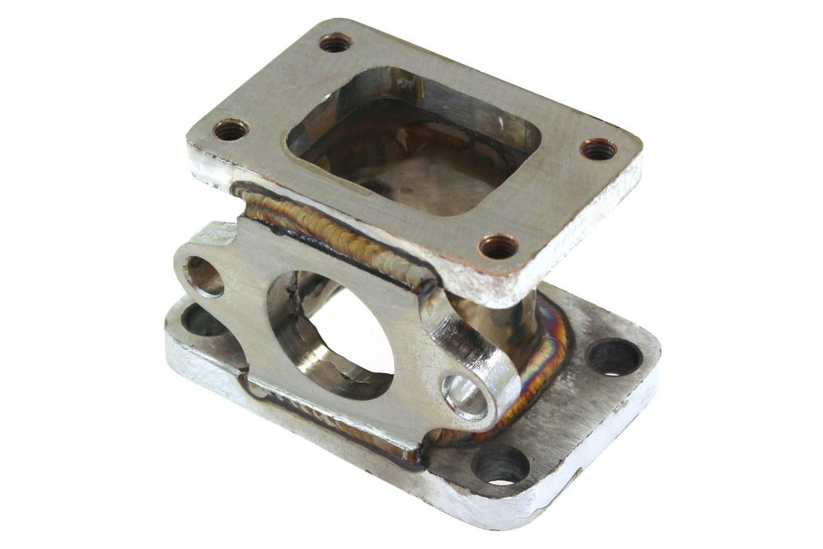 Flansza redukcja turbo T2/T25-T3 wastegate 38mm - GRUBYGARAGE - Sklep Tuningowy